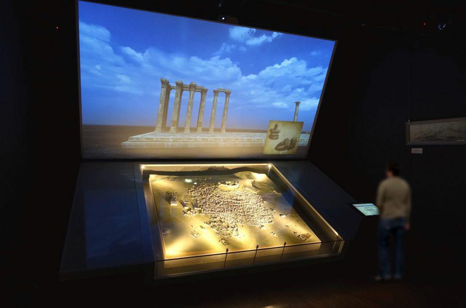 """Interactive exhibit """"Athens 1842"""""""